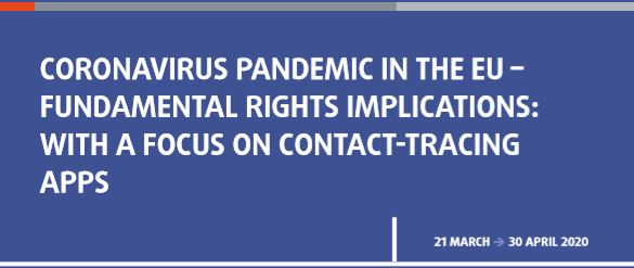 tracing apps and fundamental rights